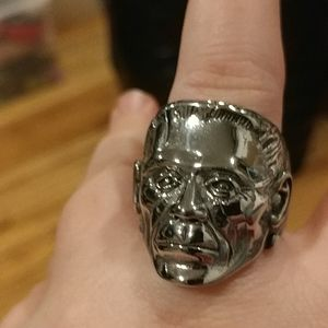Other - New men's horror Frankenstein stainless steel ring